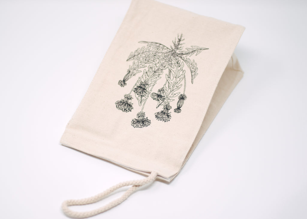 Dandelion Reusable Lunch Bag