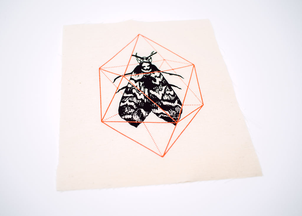 Geodesic Moth Patch