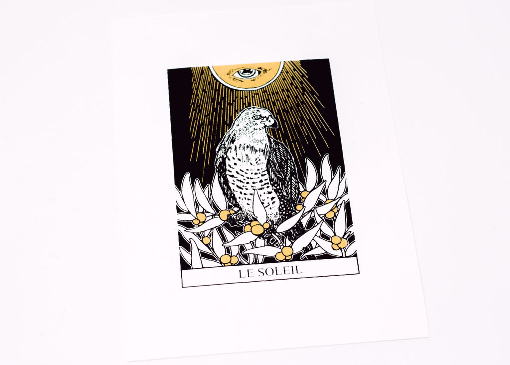 The Sun Tarot Print