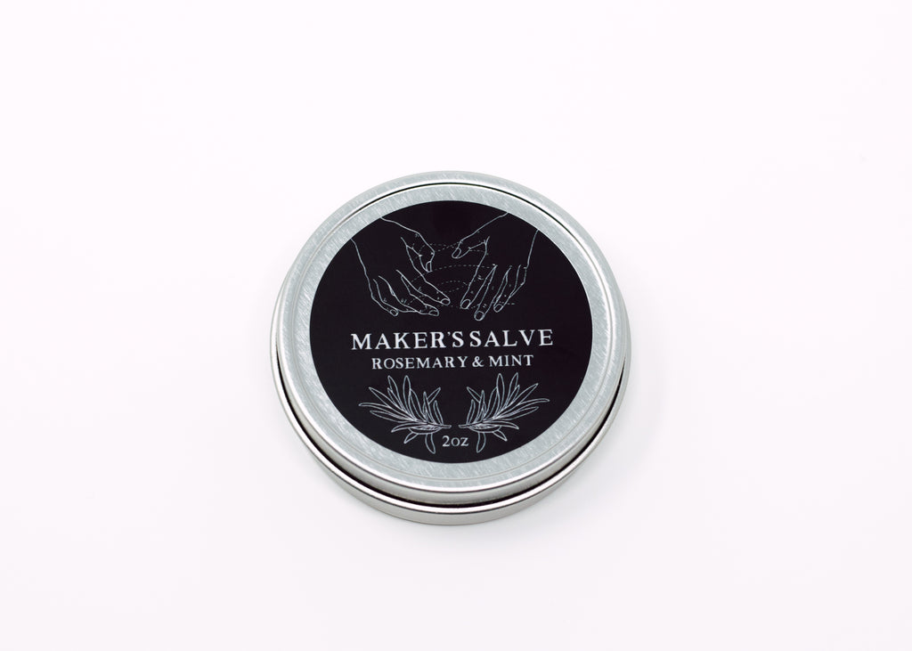 Rosemary and Mint Makers Salve