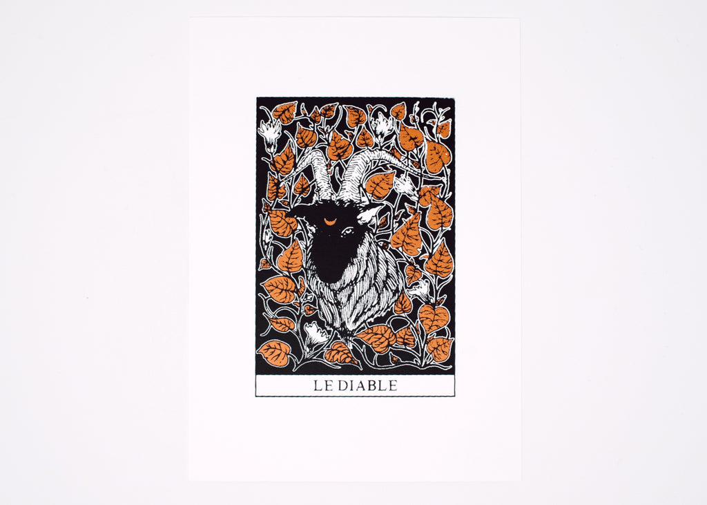 The Devil Tarot Print