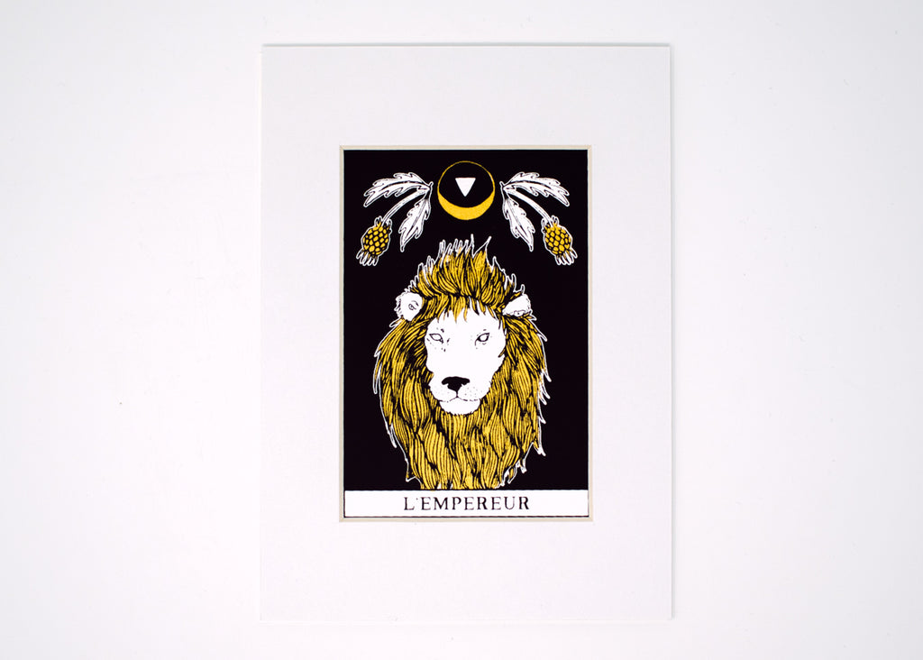 The Emperor Tarot Print