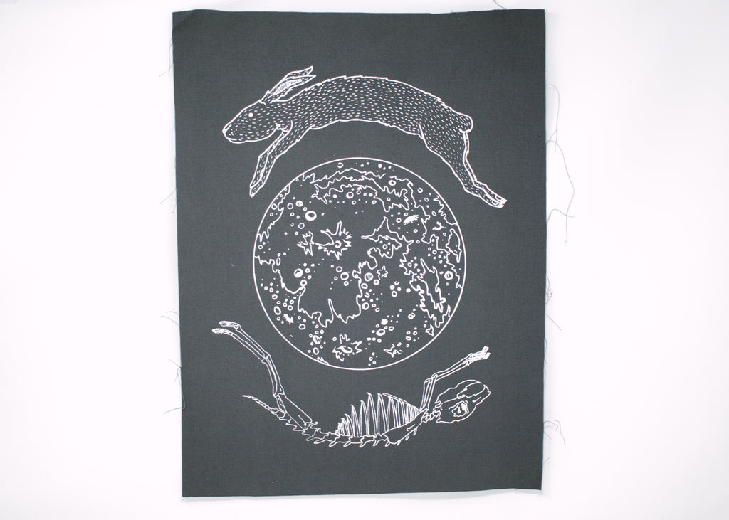 Lunar Hare Back Patch