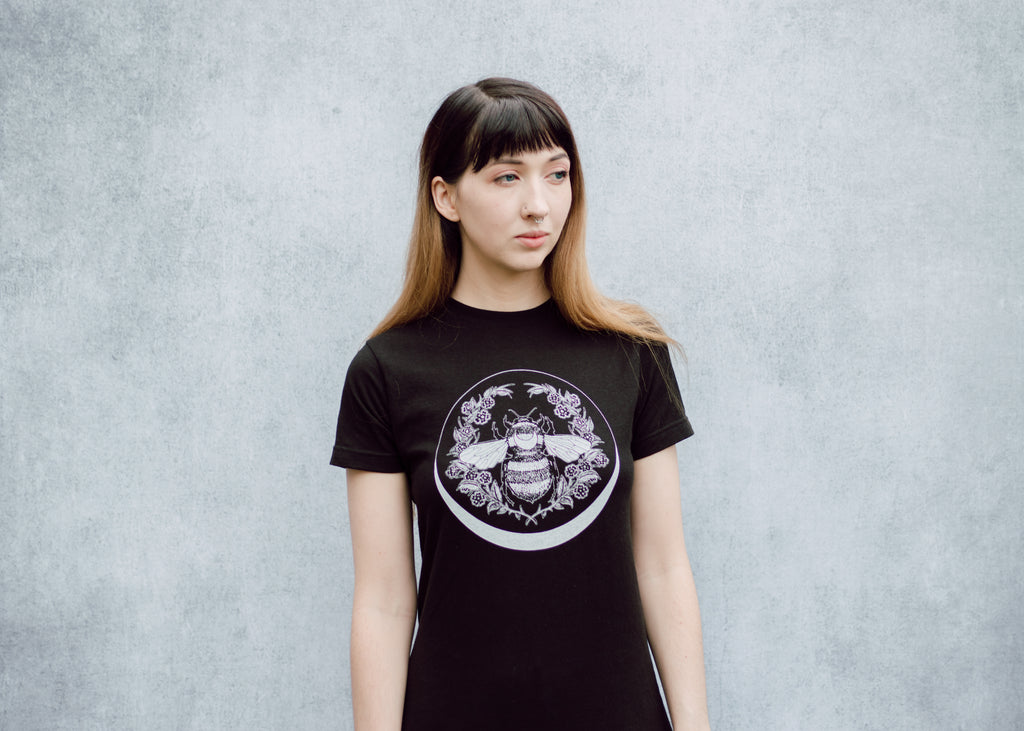 Honey Bee and Crescent T-Shirt