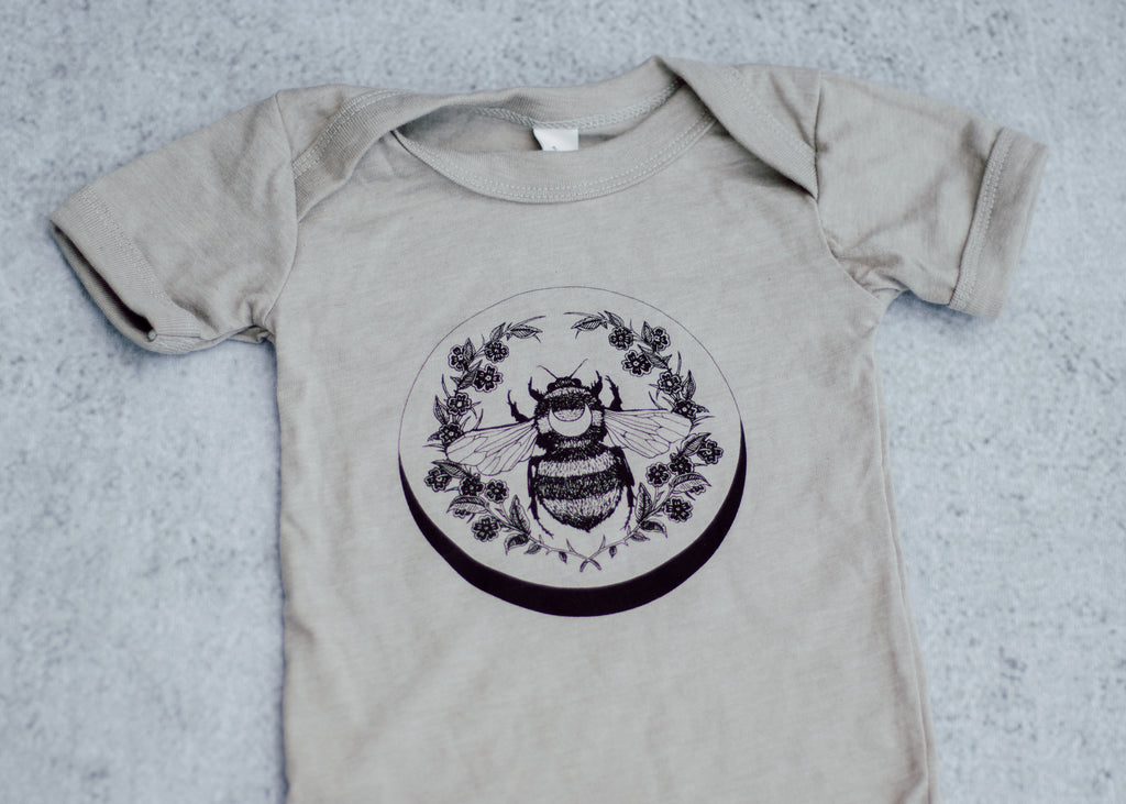 Honey Bee Infant Bodysuit