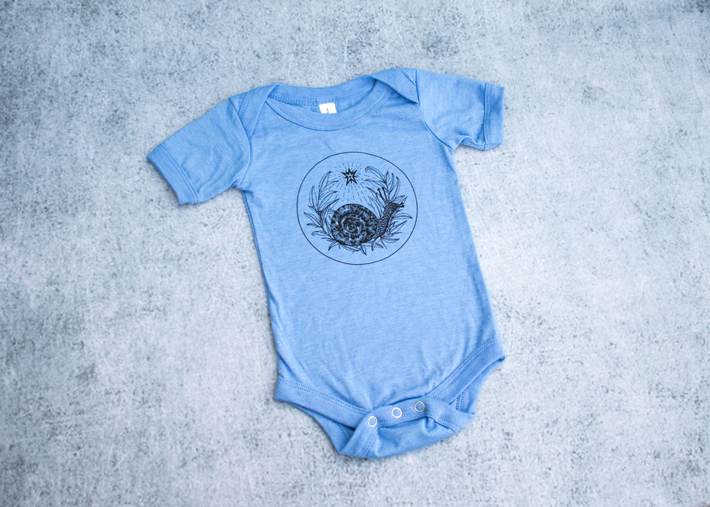 Snail and Star Infant Bodysuit