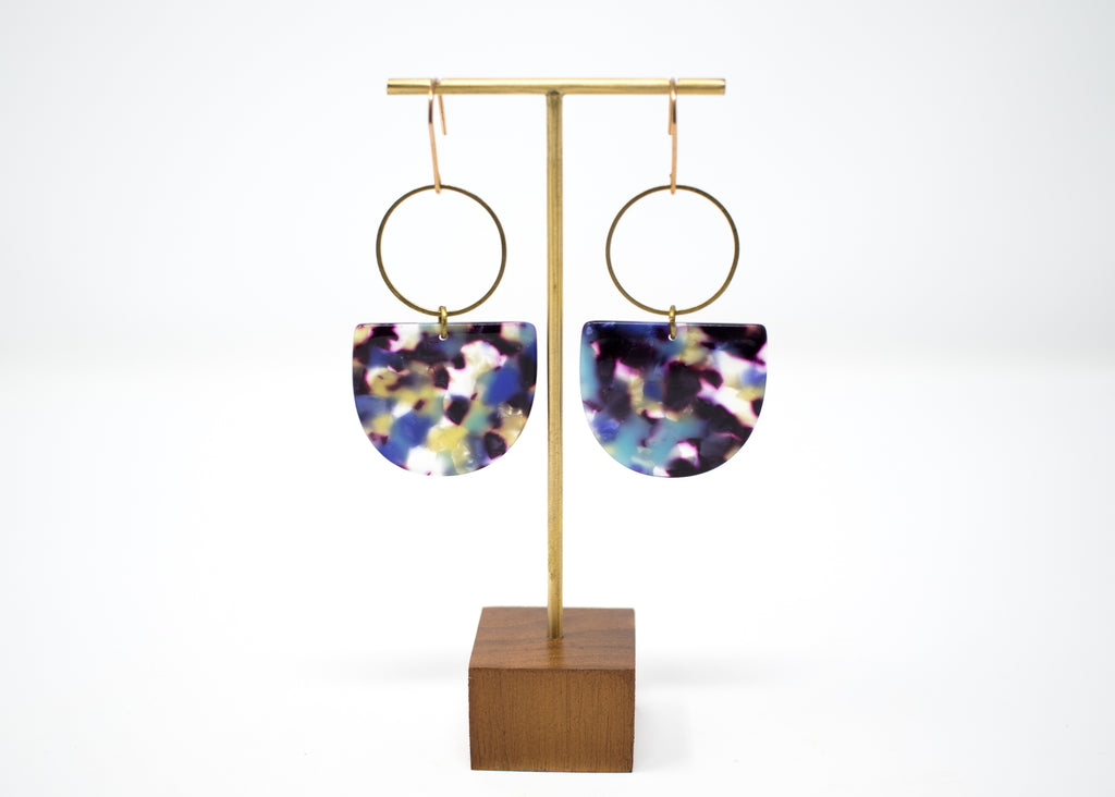 Blueshift Statement Earrings