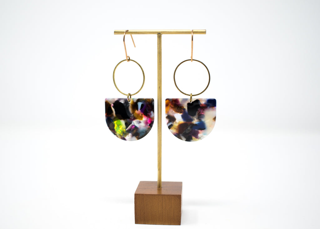 Technicolor Statement Earrings