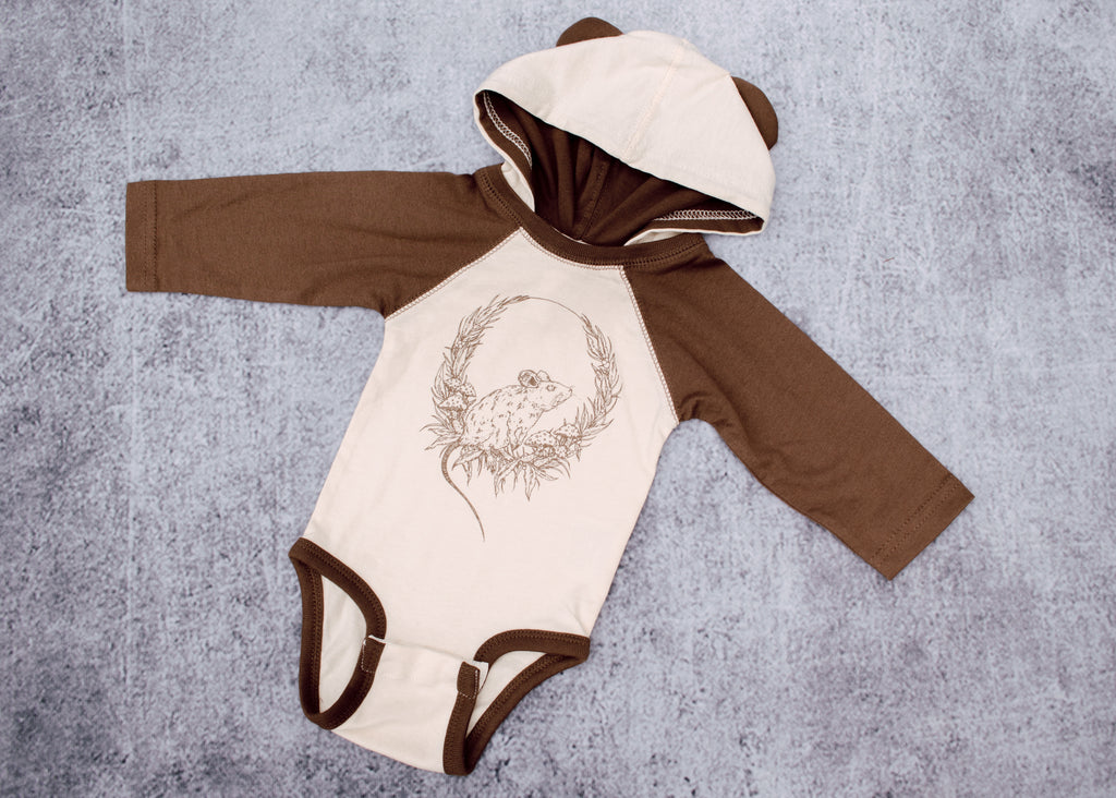 Mouse Ears Infant Bodysuit