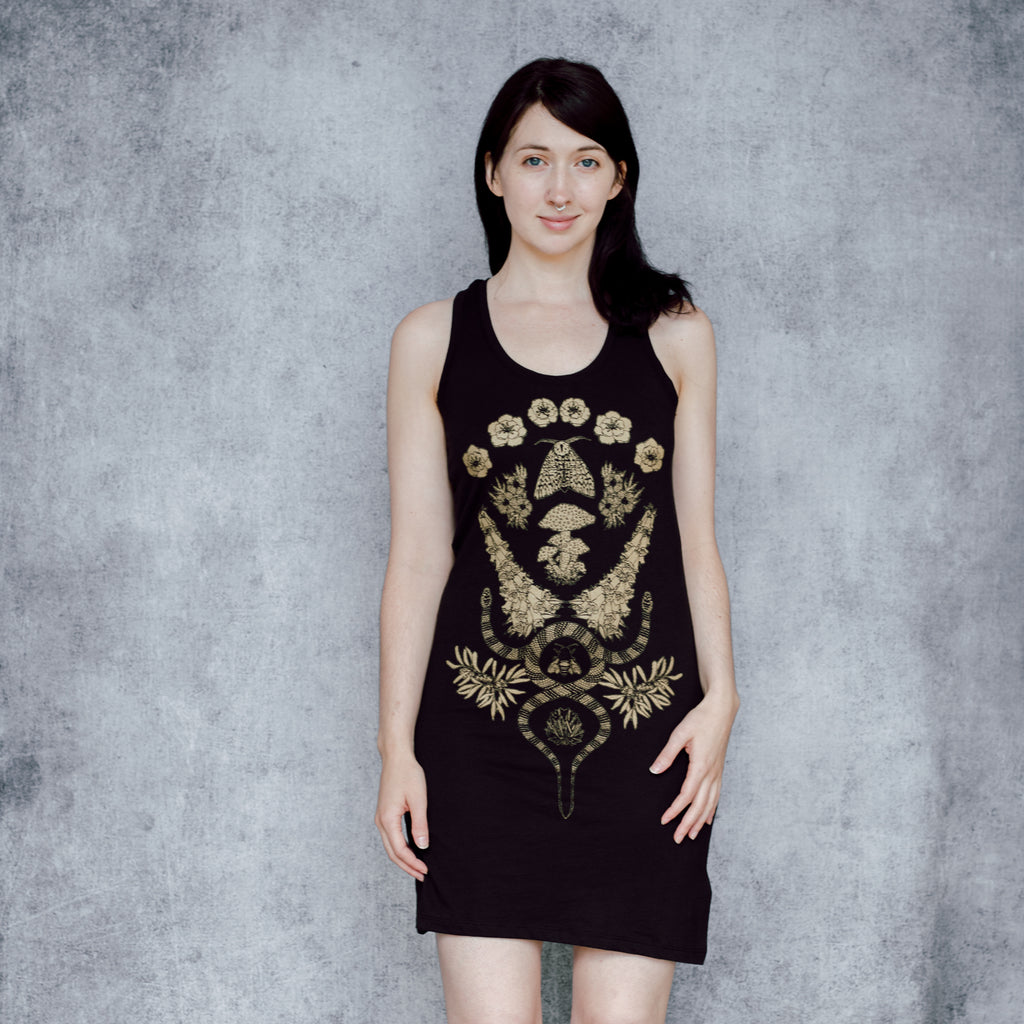 Limited Edition Gold Poison Dress