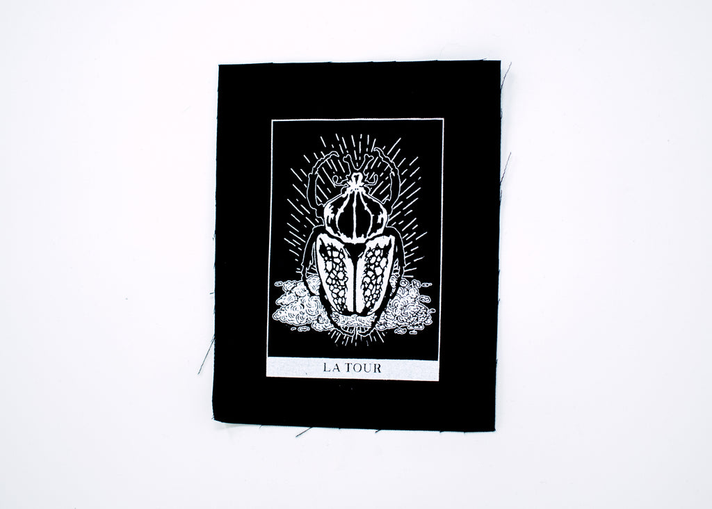 The Tower Tarot Patch