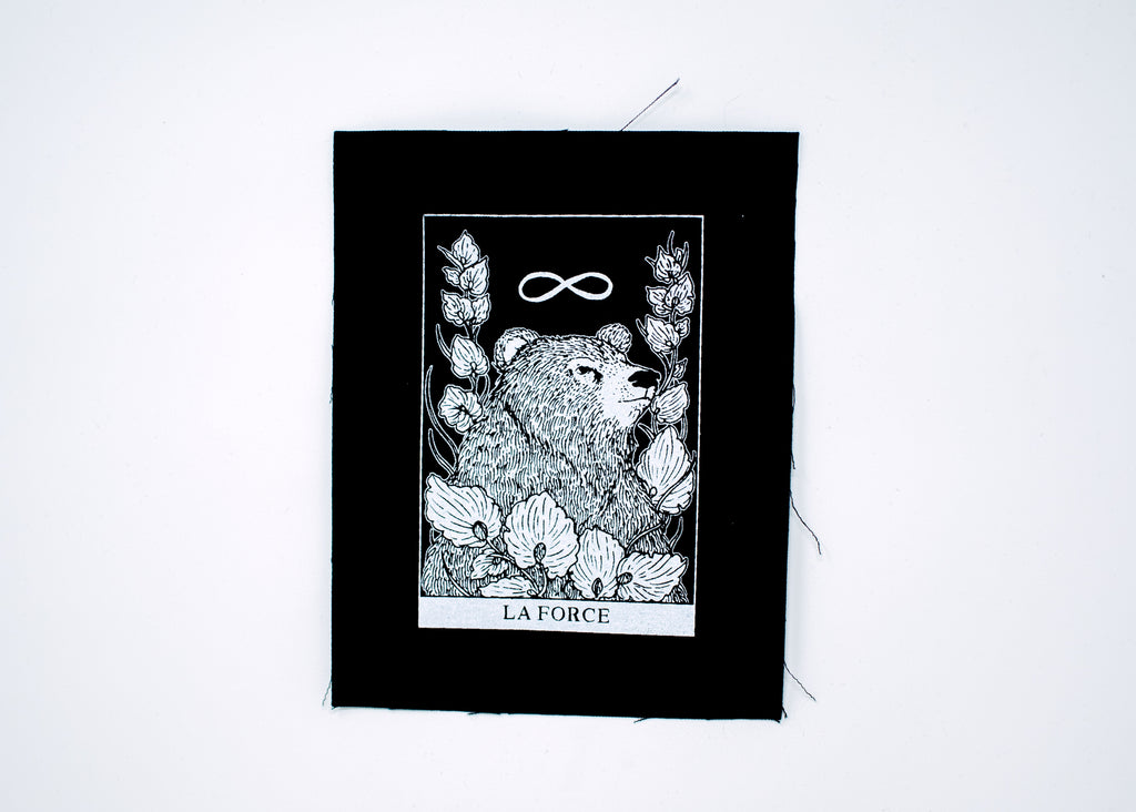 Strength Tarot Patch