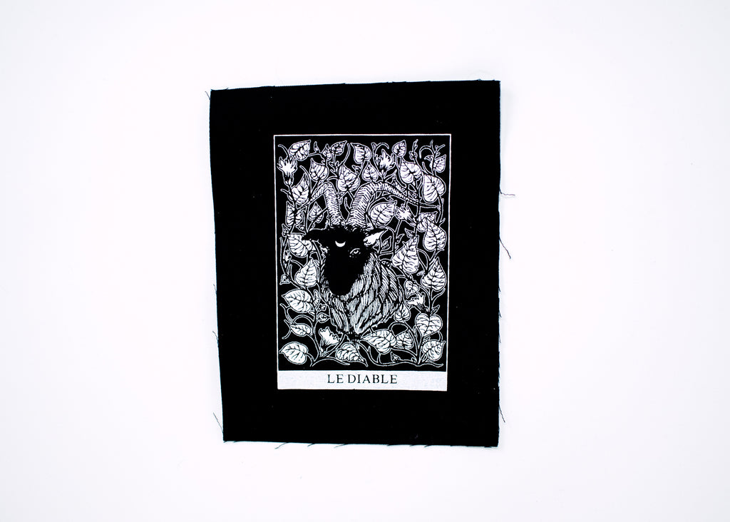 The Devil Tarot Patch