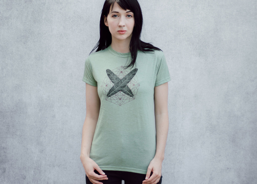 Two Feathers Women's T-shirt
