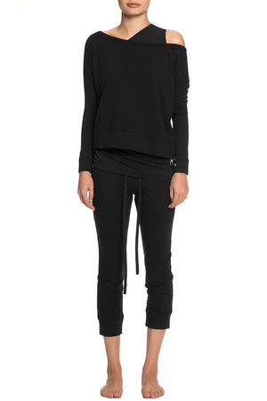 Bare Shoulder Sweatshirt tatejones