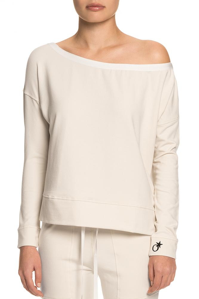 Bare Shoulder Sweatshirt
