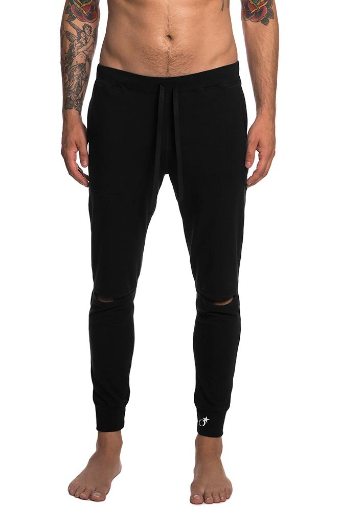 Men's Slit Knee Sweat