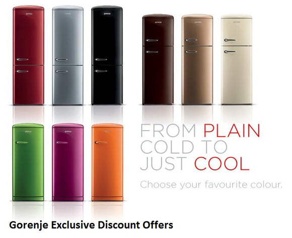 Gorenje Exclusive Retro Offers