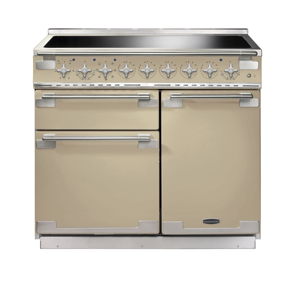 Rangemaster ELS100EICR/ Elise 100cm Induction Range Cooker - Cream 100170