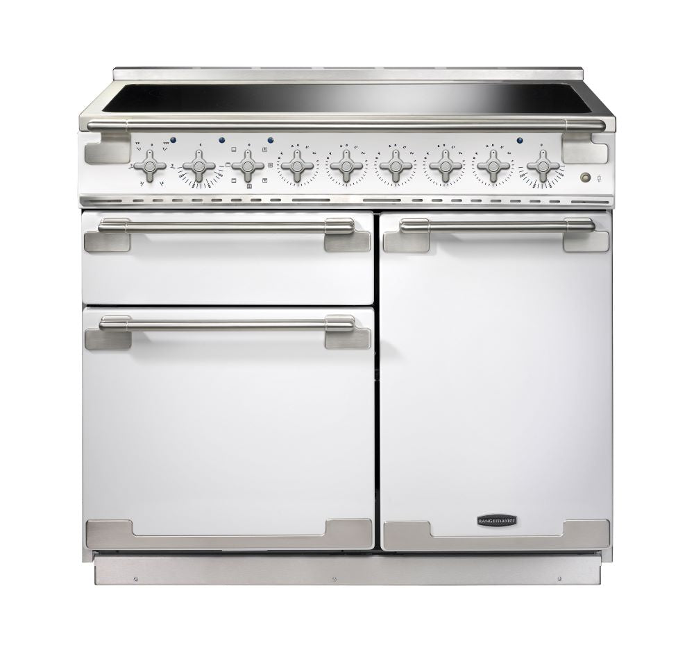 Rangemaster ELS100EIWH/ Elise 100cm Induction Range Cooker - White 100210