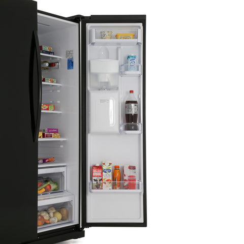 Samsung RS52N3213BC American Fridge Freezer Frost Free - Black