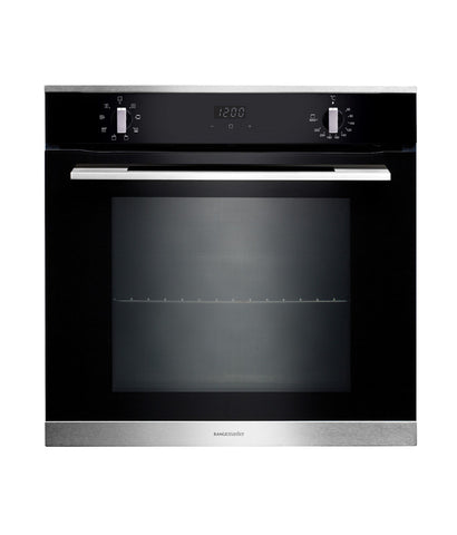 Rangemaster RMB608BL/SS 60cm Built In Electric Oven - Black and Stainless Steel 112140