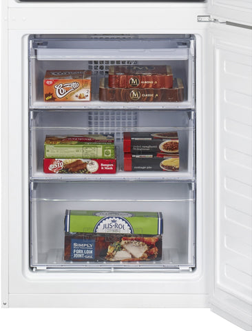Beko CFP1675W Fridge Freezer Frost Free - White
