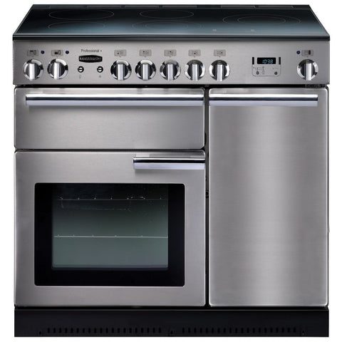 Rangemaster PROP90ECSS/C Professional Plus 90cm Electric Range Cooker - Stainless Steel