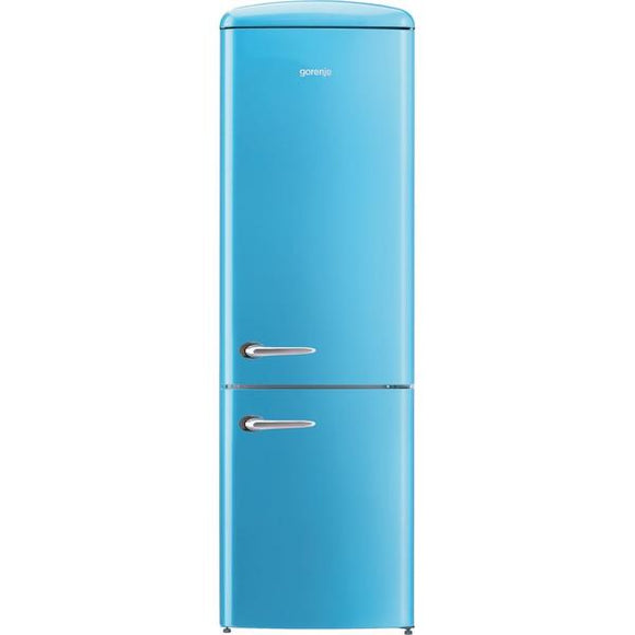 Gorenje ONRK193BL-EX 70/30Fridge Freezer Frost Free -Baby Blue- Full Warranty