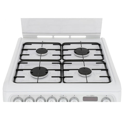 Cannon CH60DHWF 60cm Dual Fuel Cooker - White