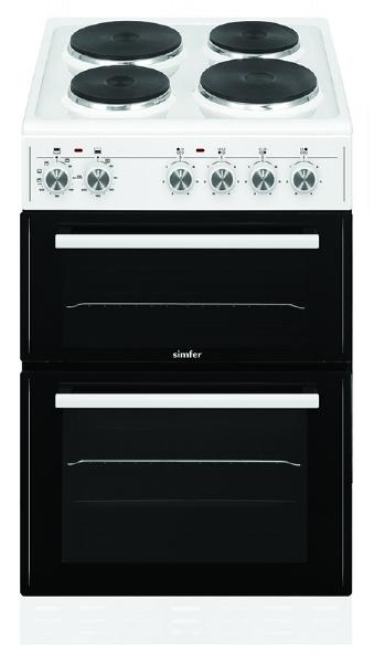 Simfer SCO52EW 50cm Electric Cooker - White