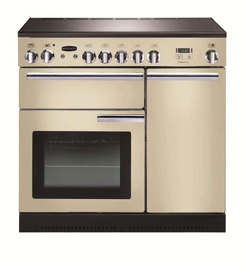 Rangemaster PROP90EICR/C Professional Plus 90cm Induction Range Cooker - Cream