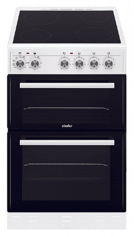 Simfer SCOD52CEW 50cm Electric Cooker - White