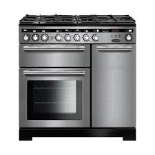 Rangemaster EDL90DFFSS/C Encore Delux 90cm Dual Fuel Range Cooker - Stainless Steel 117210
