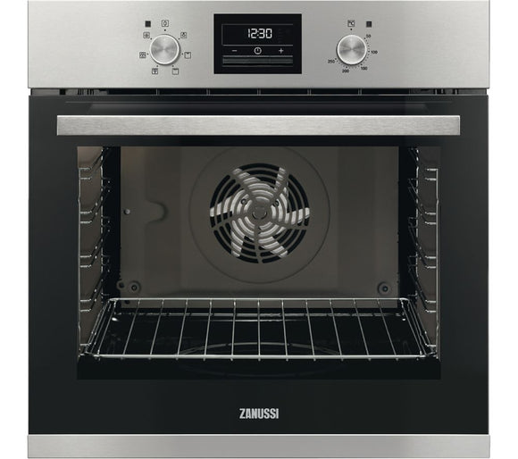 Zanussi ZOA35471XK Built-In Electric Single Oven - Stainless Steel