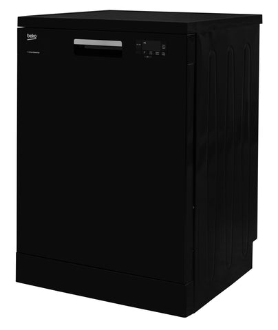 Beko DFN15X10B Full Size Dishwasher - Black