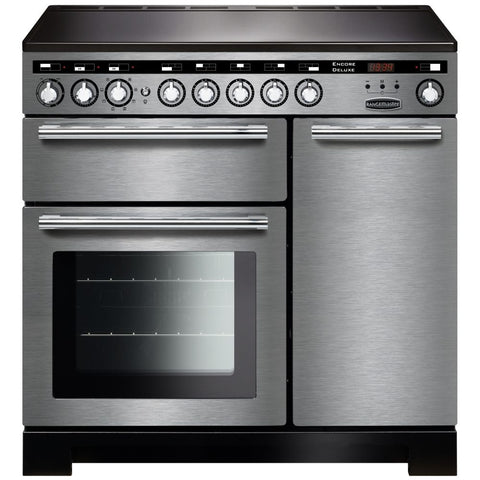 Rangemaster EDL90EISS/C Encore Delux 90cm Induction Range Cooker - Stainless Steel 117330