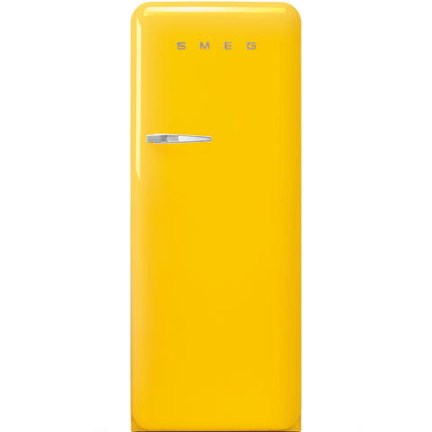 Smeg FAB28RYW3UK Freestanding Fridge - Yellow