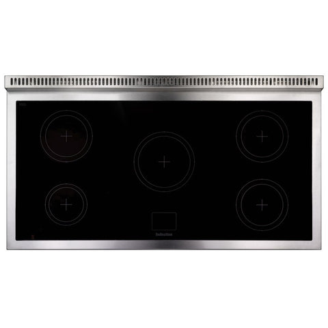 Falcon 1092 Delux F1092DXEISL 110cm Induction Range Cooker - Slate