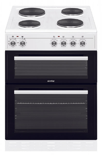 Simfer SCOD62EW 60cm Electric Cooker - White
