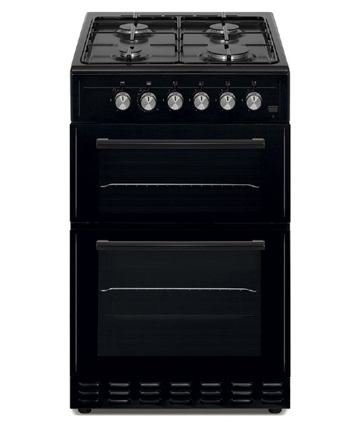 Simfer SCO52GB 50cm Twin Cavity Gas Cooker - Black