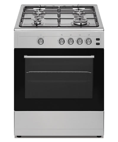 Simfer SCO60GX 60cm Single Cavity Gas Cooker - Stainless Steel