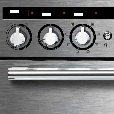 Rangemaster EDL100EISS/C Encore Delux 100cm Induction Range Cooker - Stainless Steel 117370