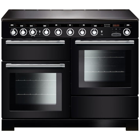 Rangemaster EDL110EIBL/C Encore Delux 110cm Induction Range Cooker - Black 117380