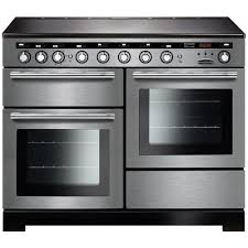 Rangemaster EDL110EISS/C Encore Delux 110cm Induction Range Cooker - Stainless Steel 117410