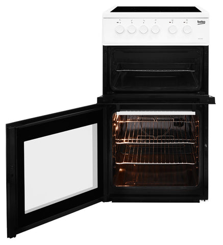 Beko KDC5422AW 50cm Electric Cooker - White