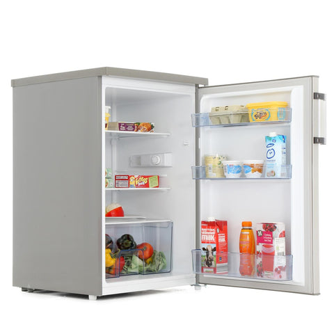 Hisense RL170D4BC2 55cm Under Counter Larder Fridge - Stainless Steel