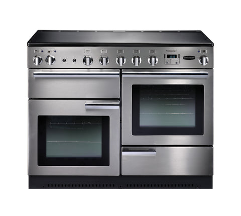 Rangemaster PROP110EISS/C Professional Plus 110cm Induction Range Cooker - Stainless Steel/Chrome 85310