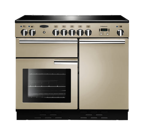 Rangemaster PROP100EICR/C Professional Plus 100cm Induction Range Cooker - Cream/Chrome 96040