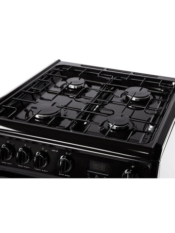 Hotpoint HARG60K 60cm Gas Cooker - Black